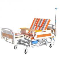 永辉护理床 家用多功能翻身床 瘫痪病人医用床 带便孔手动全曲护理床 C05S