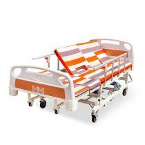 永辉护理床 家用多功能翻身床 老年人瘫痪手动全曲医用护理床C07