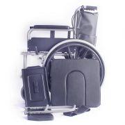 雅德 钢制 折叠 轮椅 (可配餐桌)YC3000H